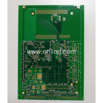 Immersion gold multilayer board